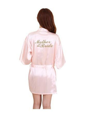 "Wedding for ""Mother of the Bride ""Robe Bath Gown Ladies Sexy Miniintotham-intotham"
