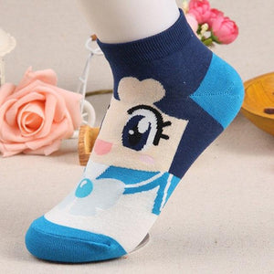 New Style Woman Girl Spring Autumn Cute Boat Cotton Cartoon Sailor Moonintotham-intotham