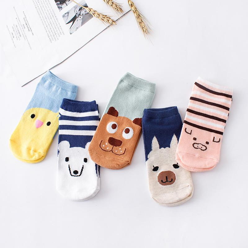 % 1pair 3D Cartoon animal dog Socks Women men Socks Fashionintotham-intotham