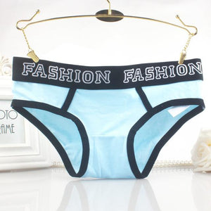 95%Cotton Panties High Quality Summer 2017 Brief Women Elastic Heathyintotham-intotham