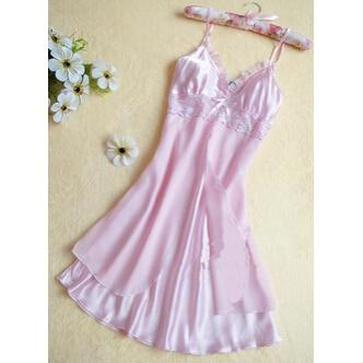 Fashion Sexy Women Lingerie Nightgown Casual Ladies Sleepwear Nightdress Camisola Vestidos Femininosintotham-intotham