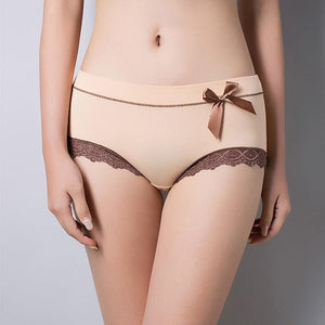 SEEDRULIA New Arriving Sexy Lace Briefs Underwear Women Cotton Panties For Ladiesintotham-intotham