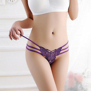 super big size thong women lacing with bow Women Lace Thongs Sexyintotham-intotham
