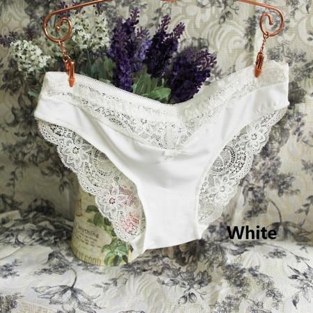 Rose Lace Women Panties Seamless Print Underwear Sexy Briefs Women Flower Embroideryintotham-intotham