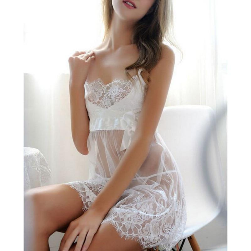 Costumes Lace Dress Women 3XL G-string Sexy Lingerie Nightwear Underwear Femaleintotham-intotham