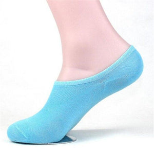 10 Pair Summer Cotton Women's Short Socks Breathable Non-slip Pure Color Socksintotham-intotham