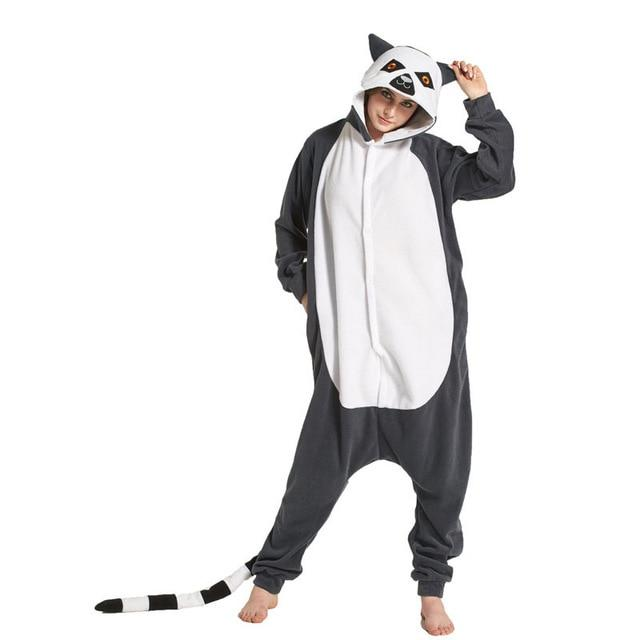 Cozy Pajamas Kigurumi Adult Onesies Bear Skull Cartoon Character Onesies For Halloweenintotham-intotham