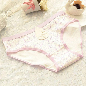 Women Cotton Underwear Hot Soft Panties Pink Large Code Women's Panties Briefsintotham-intotham