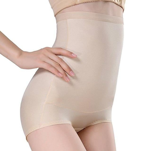Women High Waist Body Shaper Seamless Control Pants Tummy Belly Waist Slimmingintotham-intotham
