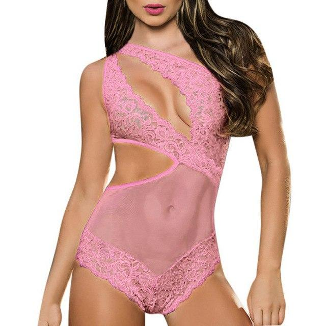 Sexy Women Lingerie Nightwear Underwear Women Babydoll Sleepwear Lace Dress G-string Clothingintotham-intotham