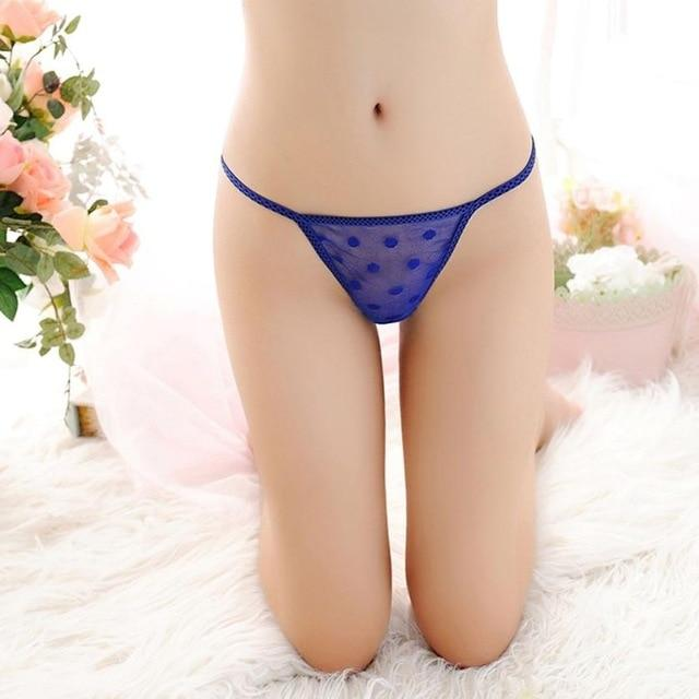 sexy women's Panties Lace and Breathable cotton Briefs Panties Thongs G-string Femaleintotham-intotham
