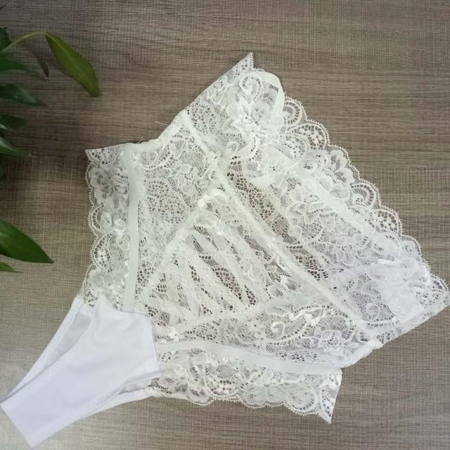 Hot Sexy Lace Underwear Briefs Women Fashion High-Rise Ladies Thongs and Gintotham-intotham