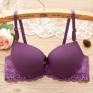Sexy Lace Women Bra Push Up Bra Push Up support Adjustment Braintotham-intotham