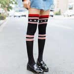 Harajuku Kawaii Streetwear Long Socks With Boots Sailor Moon Knee Socksintotham-intotham