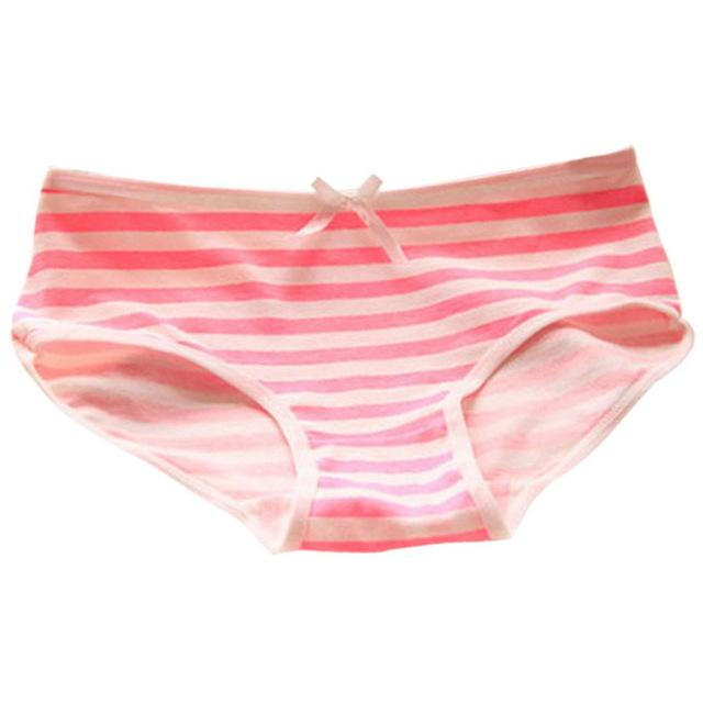 2018 Free shipping New Women's cotton panties Girl Briefs Cute cottonintotham-intotham