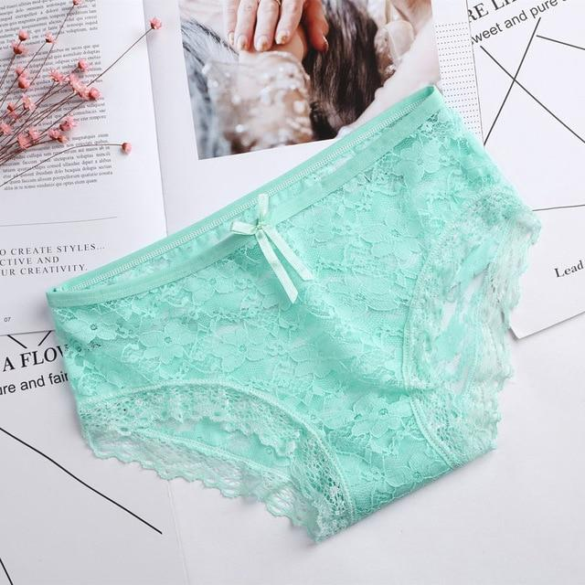 2018 New Panties Women Underwear Girls Lace Briefs Sexy Lingerie Thongs Tangasintotham-intotham