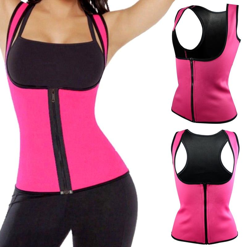 Hot Neoprene Body Shaper Slimming Waist Trainer Cincher Vest Women 2017 Newintotham-intotham