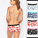 2018 New PINK HEROES Womens Boxer Underpants Printing Sexy Briefs Shorts Underwearintotham-intotham