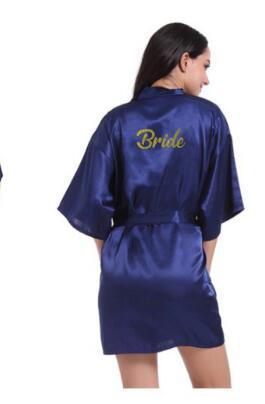 Maid of Honor bridesmaid robes personalized matching robes mother of the brideintotham-intotham