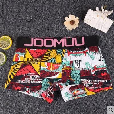 Panties Women Combed Cotton Punk Graffiti Print Underwear Girl Casual Briefs Sexyintotham-intotham