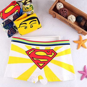 New Girls Cartoon Cute Underwear youth Soft Cotton Seamless Briefs Duck catintotham-intotham