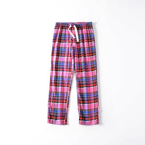 Free shipping,Plus size woman comfortable Sleep Bottoms,womens cotton pajamas pants,thin loose homeintotham-intotham