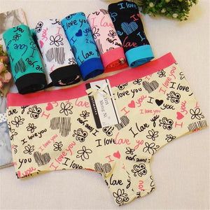 Sexy Women Underpants Plus Size Cotton Women Shorts Ladies Panties Girls Kawaiiintotham-intotham