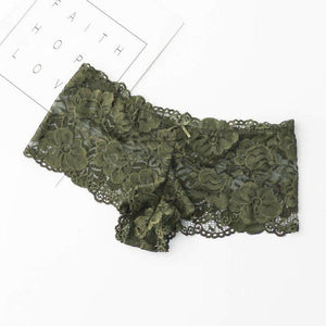 M-3XL 2019 New Women's Sexy Lace Panties Seamless Breathable Panty Transparent Hollowintotham-intotham