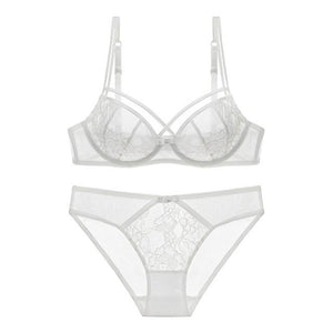 Hot Women lingerie set ultra thin bra set Sexy Lace Underwearintotham-intotham