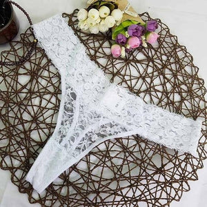 Europe size big size ONE SIZE adjusted Sexy cozy Lace Briefsintotham-intotham