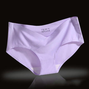 Summer Low Waist Cotton Ice Silk Maternity Underwearintotham-intotham