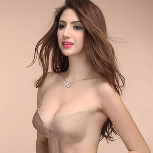 Sexy Self Adhesive Strapless Bra Bandage Stick Gel Silicone Push Up Invisibleintotham-intotham