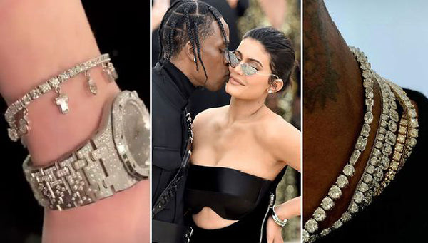 Travis Scott and Kylie Jenner's BLING is SICKO!!!