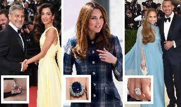 The Most Loved & Trending Celebrity Engagement Rings of All Time