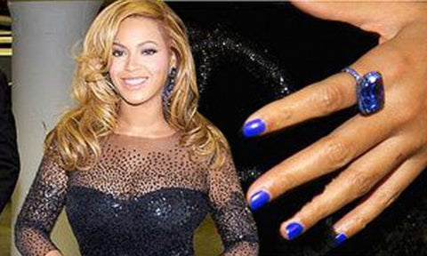 Beyonce Blue Ring Push Gift