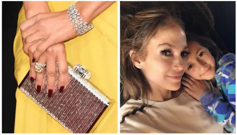 Jennifer Lopez celebrity custom design push gift