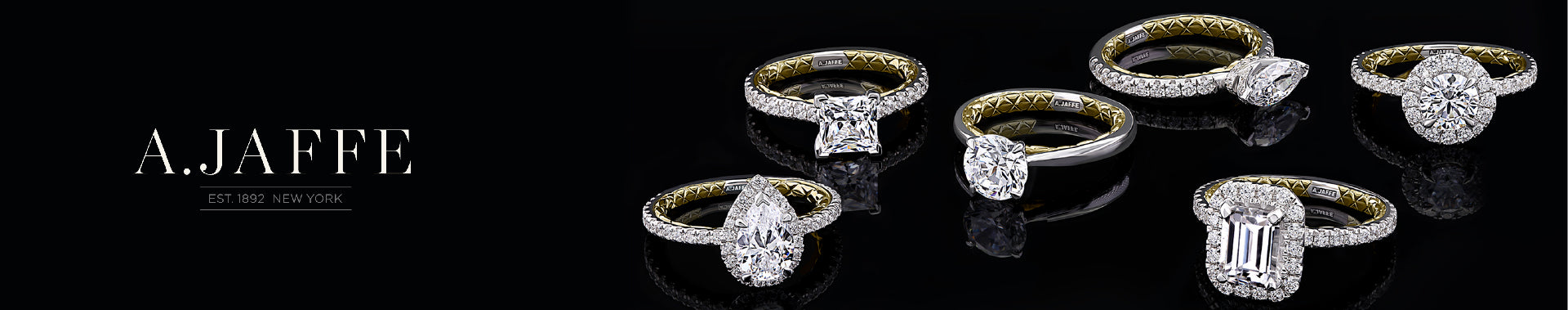 A.Jaffe Engagement rings collection