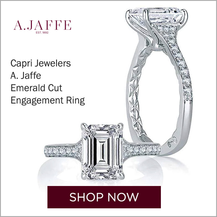 Capri Jewelers Emerald Cut Ring