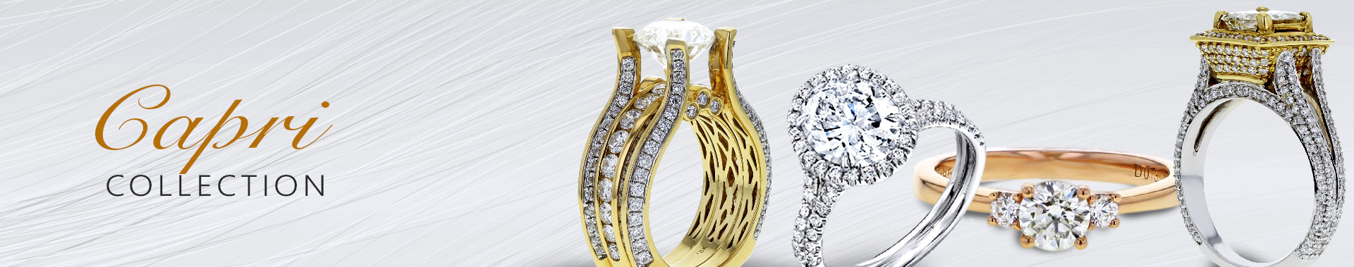 Capri Engagement Rings Collection