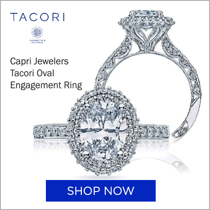 Tacori Oval Engagement Ring HT 2522 OV