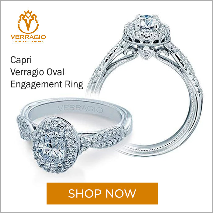 Verragio Oval Engagement Ring