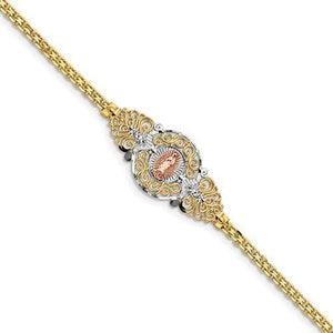 Capri_Q Bracelet Our Lady Of Guadalupe Bracelet 14K