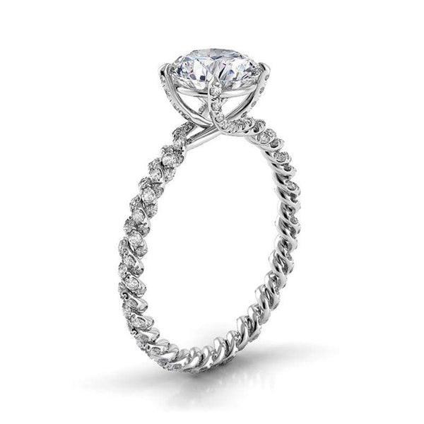 Danhov Engagement Ring Danhov Eleganza Braided Ring ZE105