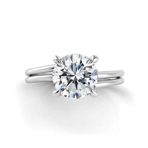 Danhov Engagement Ring Danhov Eleganza Double Shank Ring ZE107