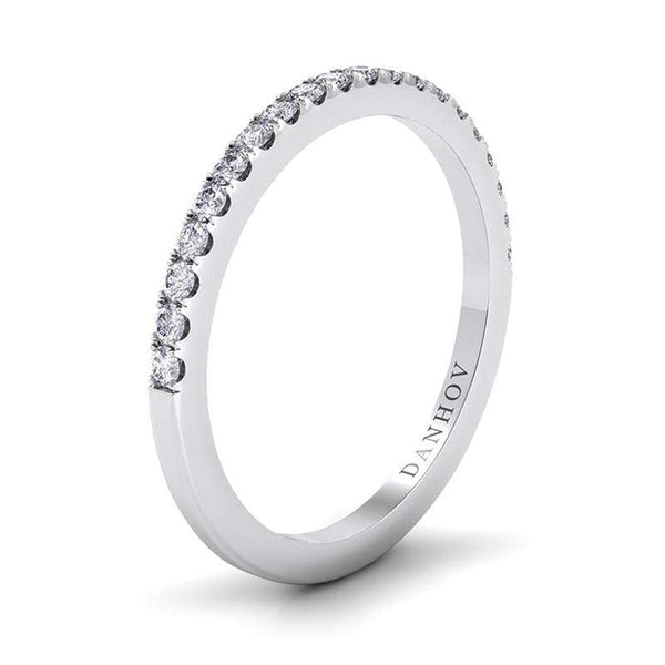Danhov Engagement Ring Danhov Per Lei Flat Diamond Wedding Band LB100-H