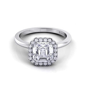 Danhov Engagement Ring Danhov Per Ler Asscher Cut Ring LE104-AS