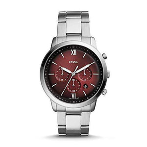 Fossil Watches Fossil Neutra Chronograph Stainless Steel Watch 44mm FS5491