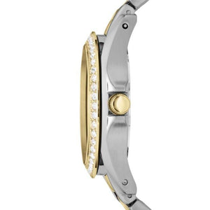Fossil Watches Fossil Riley Multi-Function Two-Tone Stainless Steel Watch 38mm ES3204P