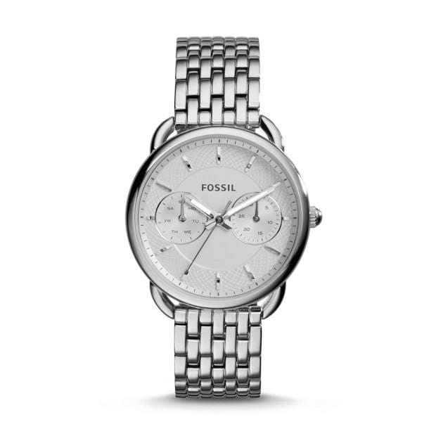 Fossil Watches Fossil Tailor Multi-Function Stainless Steel Watch 35mm ES3712P