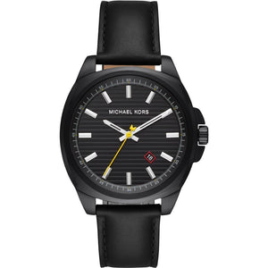 Michael Kors Watches Michael Kors Bryson Leather Watch 42mm MK8632